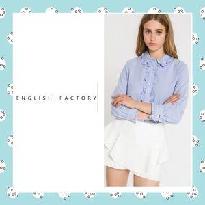 English Factory Ruffle Blouse